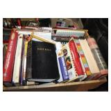BIBLE AND COOKBOOKS