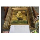 A IVAN SIGNED OIL PAINTING