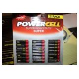 21 PACK AA POWER CELL BATTERIES