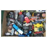 BOX OF DIE CAST CARS