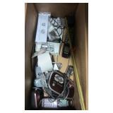 BOX OF ELECTRONICS , ADDING MACH ETC