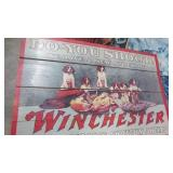 """WOODEN WINCHESTER SIGN 24"""" WIDE"""