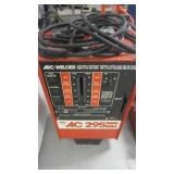 AC 295 AMP ARC WELDER AND LEADS