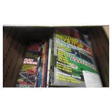 BOX OF NASCAR MAGAZINES