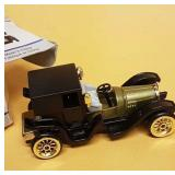 Town coupe collectible with original box. Rubber