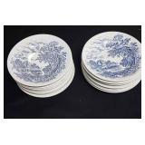 Enoch Wedgwood (Tunstall) ltd Countryside plates