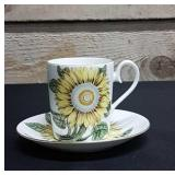 Royal Albert cup and saucer Sunflower Pattern