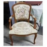 Victorian ornate chair. Nice condition just n