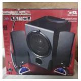 Amplified Speaker System 68 watts new. 3 piece