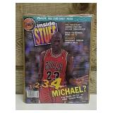 NBA Inside Stuff magazine featuring Michael Jordan