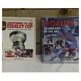 2 NHL hockey books