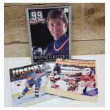 3 books.  99 my life in pictures Wayne Gretzky