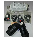 New protective gear lot