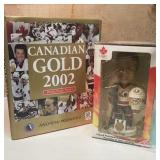 Lot hand painted Joseph Bobble Head Gold Medal