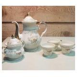 Vintage 7 piece tea set. Made in Japan
