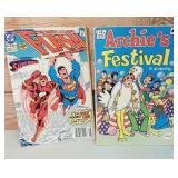 Comic DC Flash No. 53 Aug 91 and Archie