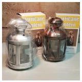 Brand New Hurricane Lanterns with paraffin