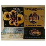 4 Big Band record albums
