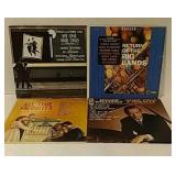4 big band albums in good condition.