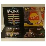 4 Swing record albums