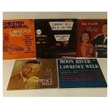 5 Lawrence Welk record albums