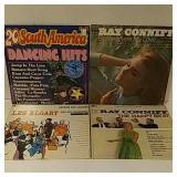 4 older dance record albums