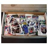 Box of collector cards. Great mix of baseball