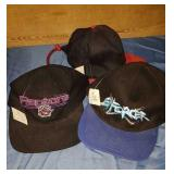 3 New baseball caps Toronto Raptors Enforcer