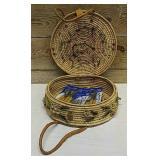 Unique Round picnic basket