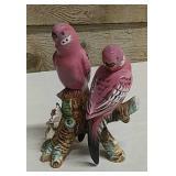 Japanese-Orion ceramic parrot ornament