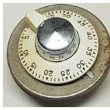 Vintage MH Rhodes timer bell US Pat. No. 2194448