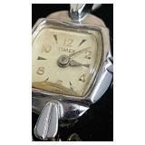 Ladies dainty vintage Timex watch.