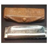 Original M Hohner Made In Germany Harmonica