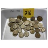 Assorted Lincoln Wheat Cents