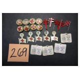 22 Vintage Lapel Pins