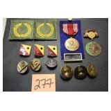 Military Patches, Pins, Medals