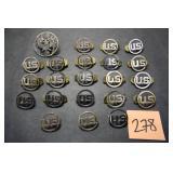 22 Military Pins