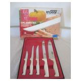 5 Piece Knife Set by TriStar Lifetime Cutlery