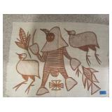 Gambia African Primitive Wall Hanging