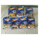 7 Hot Wheels 2001 Collectible Cars