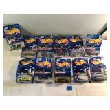 11 Assorted Hot Wheels Cars In Package