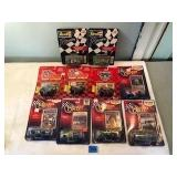 Assorted Die Cast Nascar Collectible Cars