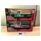 2 1996 Edition 1/18 Scale Nascar Truck Replicas