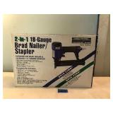 2 In 1 18-Guage Brad Nailer/Stapler