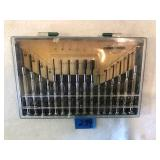 16 Piece Jeweler Screwdriver Kit In Plastic Case