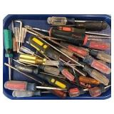 Assorted Screwdrivers (Craftsman, Snap-On, Torx)