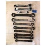 Assorted Snap-On & Blue Pointe Racheting Wrenches