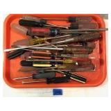 Assorted Lot Of Screwdrivers