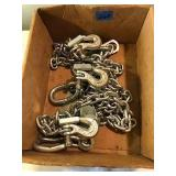 3 Sets of Forged Alloy Safety Chains