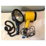 2 Portable Spotlights (1 is Coleman Nightsight)